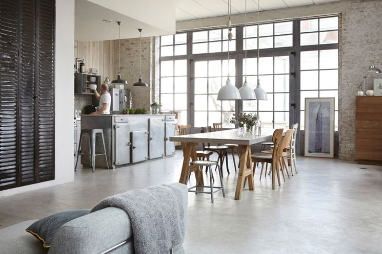 casa industrial style