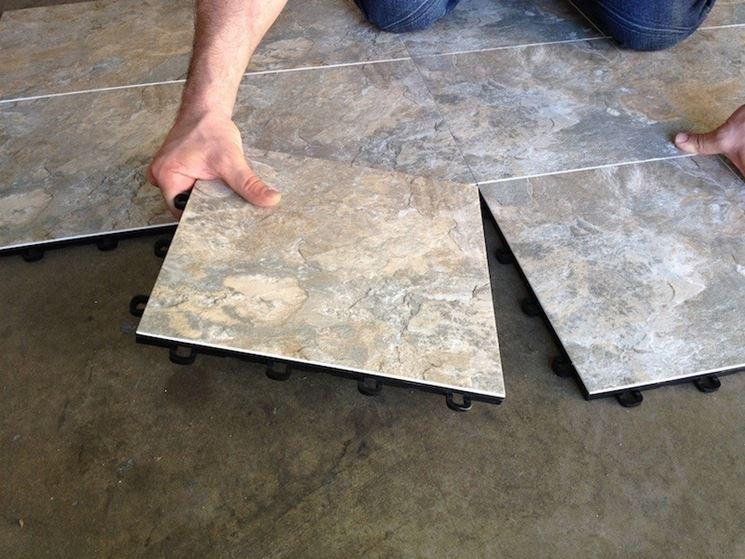 Pavimenti ad incastro per esterno vendita e posa pavimenti in