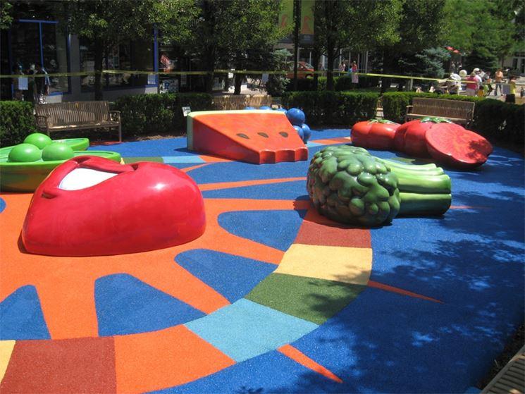 Pavimento In Gomma Per Esterno : Pavimento in gomma per le aree gioco rivestimenti