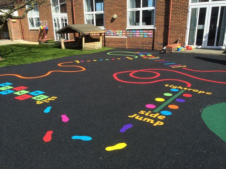 Vendita pavimentazioni in gomma online per aree gioco