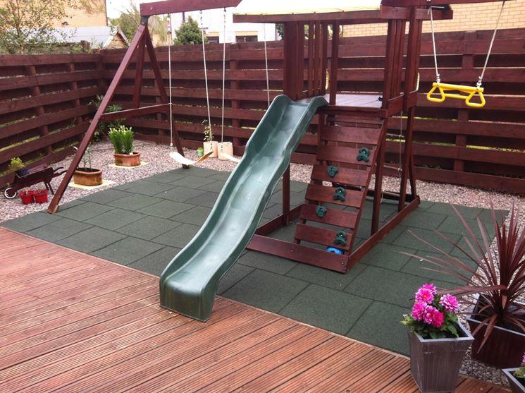 Pavimento In Gomma Per Bambini : Pavimento in gomma per le aree gioco rivestimenti