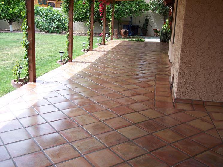 Pavimenti in pietra per patio