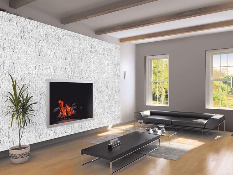 Rivestimenti in pietra per interni rivestimenti scegliere rivestimento in pietra per interni - Colori per muro interno ...