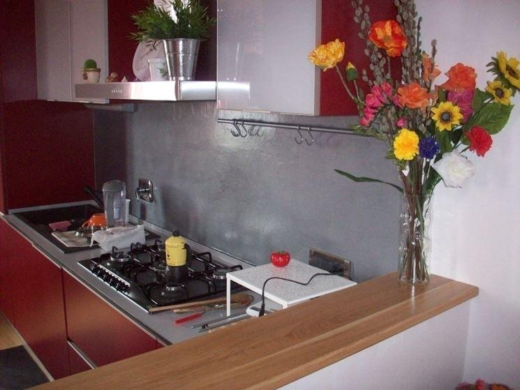 rivestimenti murali in cucina in resina