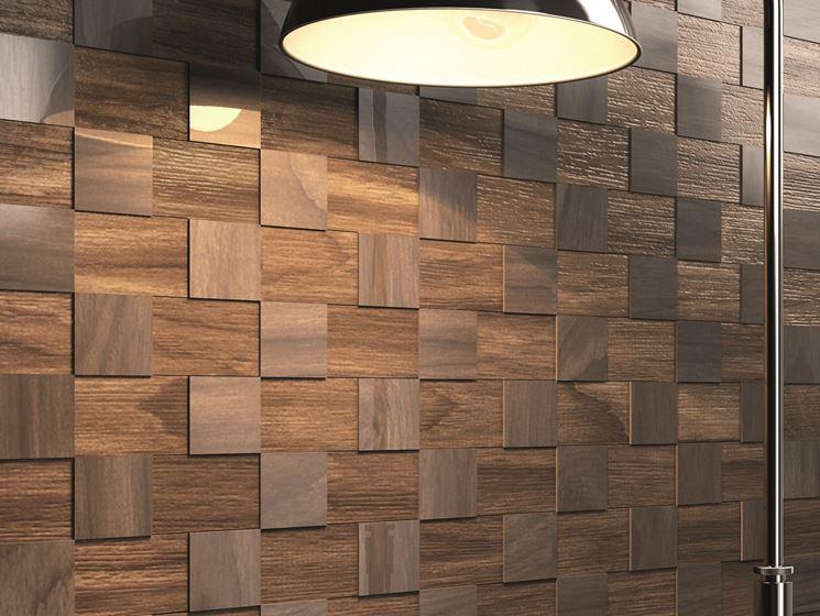 rivestimento parete in legno