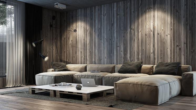 Rivestimenti muri interni rivestimenti rivestire le murature interne - Rivestimenti legno interni ...