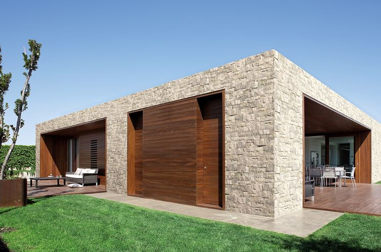 Rivestimenti per muri esterni rivestimenti for Facciate esterne case moderne