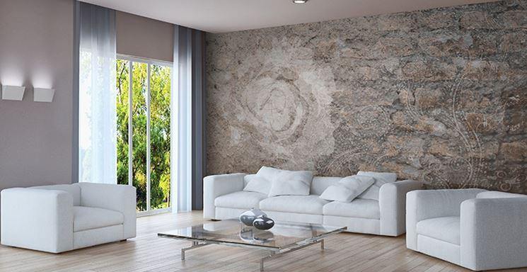 Rivestimenti per pareti rivestimenti scegliere i for Rivestimento parete salotto