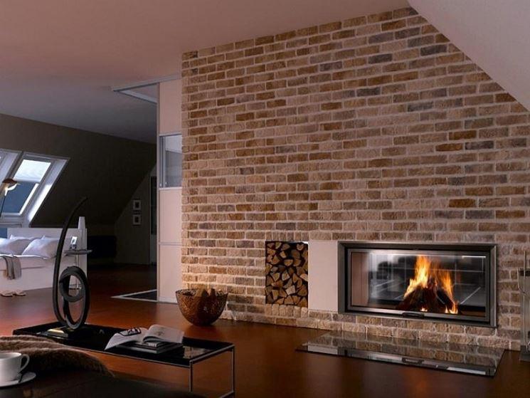 Rivestimento in pietra per interni rivestimenti come for Mattonelle finte per cucina