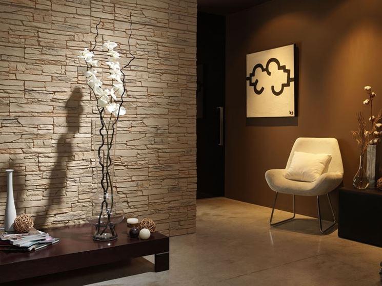 Rivestimento in pietra per interni rivestimenti come - Isolare parete interna a nord ...