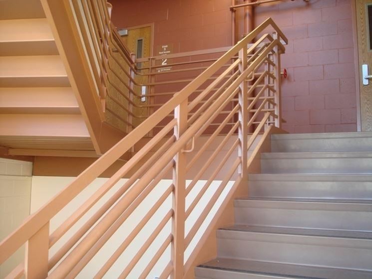 Corrimano scale scale importanza del corrimano per scale - Scale esterne chiuse ...