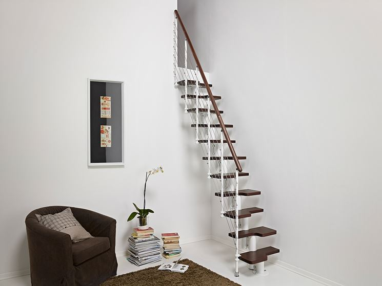 Mini scale per spazi ridotti scale scegliere una mini - Scale interne piccoli spazi ...