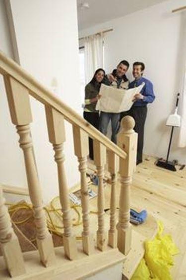 Ringhiere in legno per scale interne