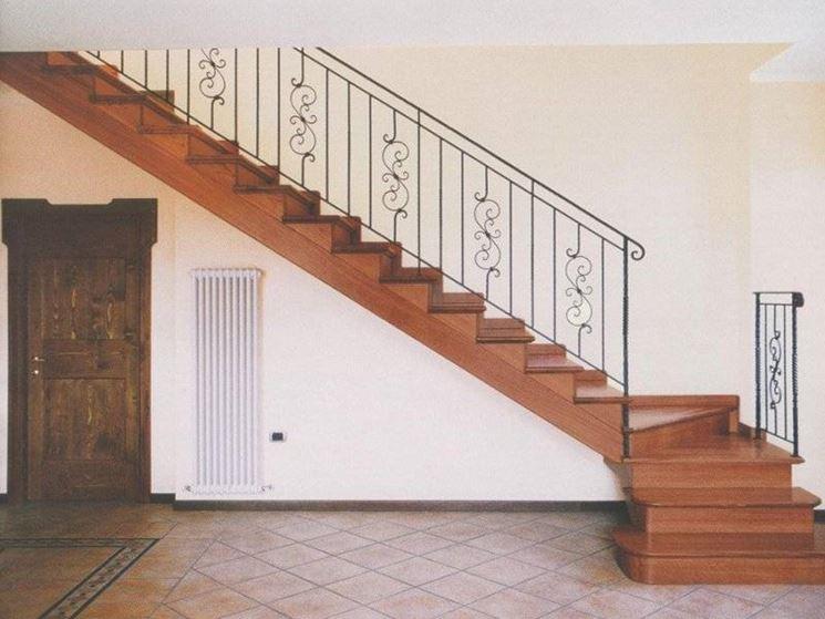 Scale a giorno in legno scale - Scale interne a vista ...