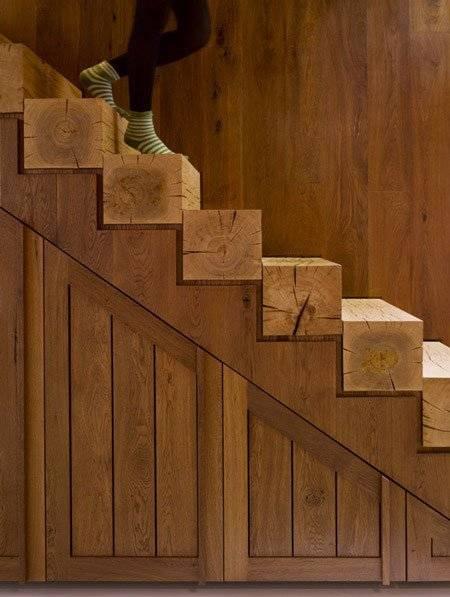 Scale in legno per interni scale for Scale in legno fai da te