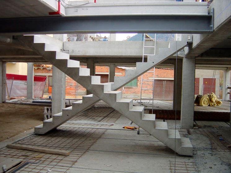 esempio di scale in muratura
