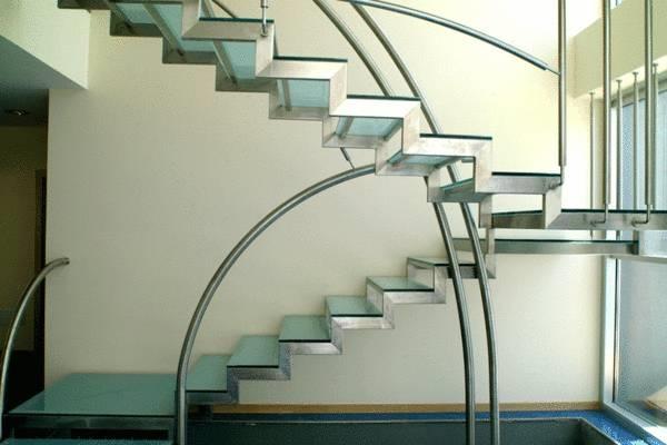Scale in vetro e acciaio scale - Scale prefabbricate per interni prezzi ...