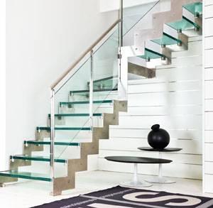 Scale in vetro e acciaio scale for Costare la costruzione di una casa contro l acquisto