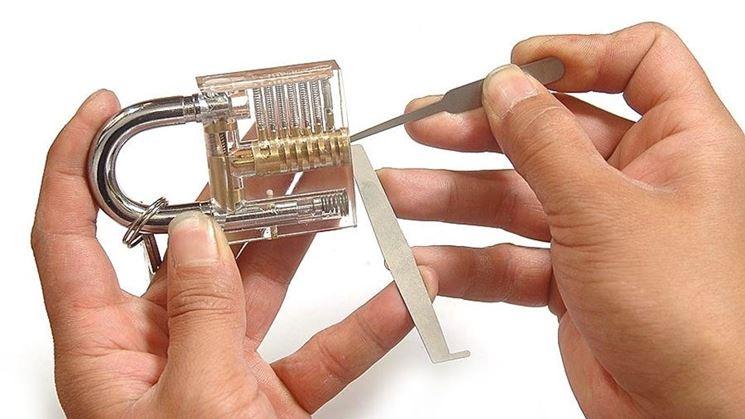 Come aprire un lucchetto senza chiavi serrature scopri for Aprire le planimetrie con seminterrato