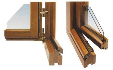 I serramenti in legno lamellare vanno bene in quasi tutte le case