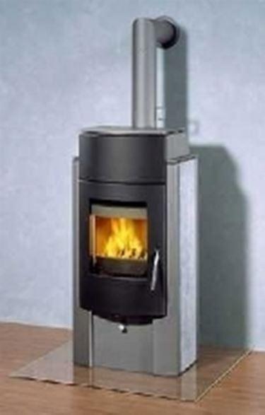 Termostufe a legna stufe caratteristiche delle for Bruciatore a pellet per forno