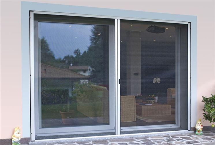 Zanzariera porta finestra zanzariere modelli di - Zanzariere per porte finestre prezzi ...