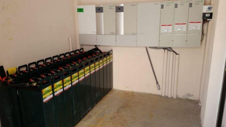 Accumulatori energia elettrica