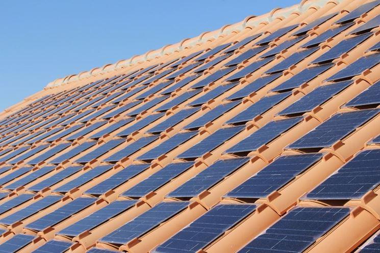 tegole fotovoltaico