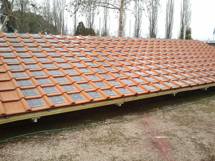 tegola fotovoltaico