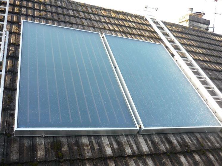 Esempio di pannelli solari