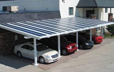 utilizzi della pensilina fotovoltaica