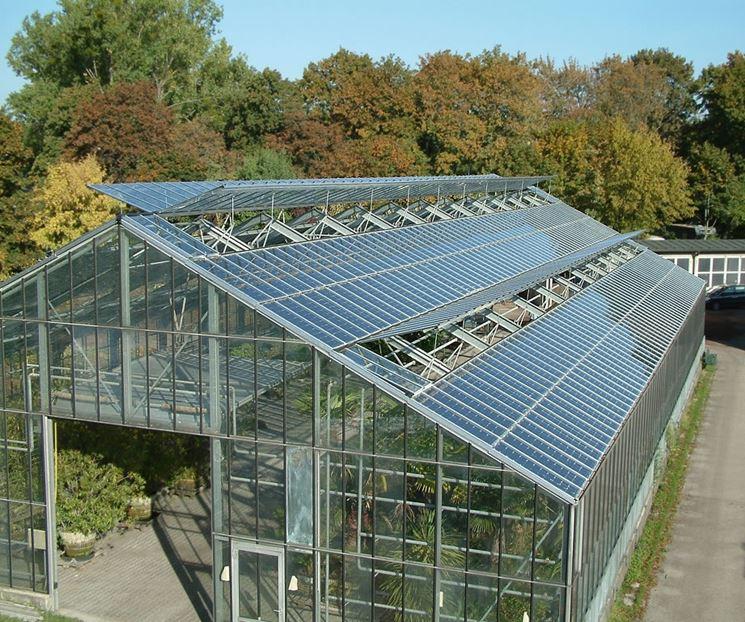 esempio di serra fotovoltaica