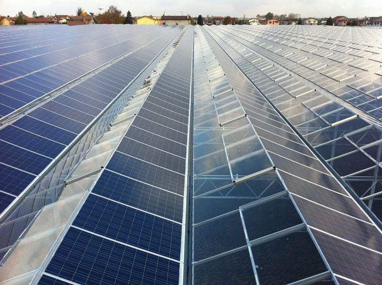 copertura serra fotovoltaica