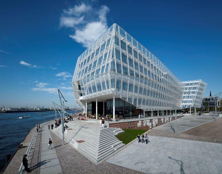 edificio moderno ad Amburgo