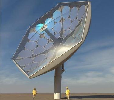 collettori solari parabolici