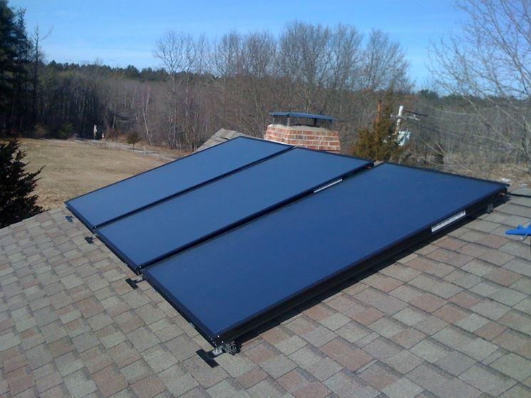 Pannello solare vetrato