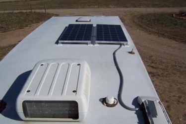 pannelli solari sul camper