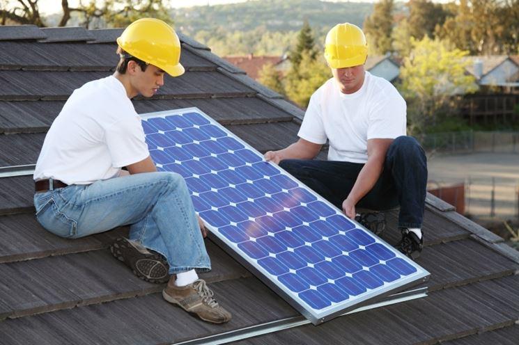 Modello pannello solare