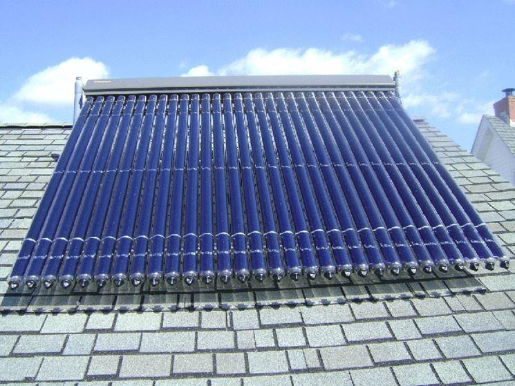 modello di pannello solare