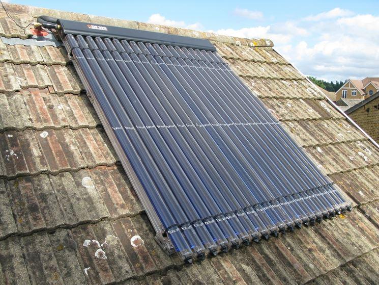Solare termico installazione