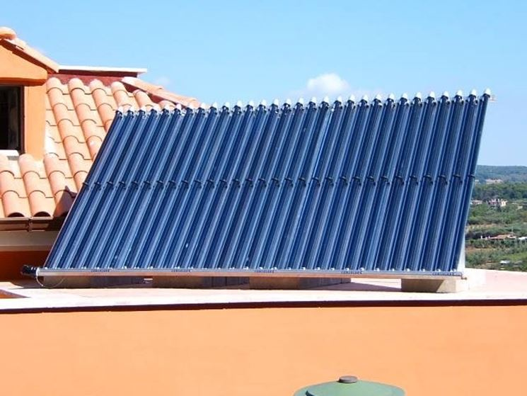 Come sono fatti i pannelli solari termici