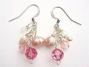 orecchini con perline