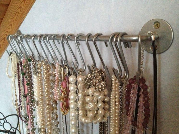 Gioielli fai da te bigiotteria realizzare gioielli fai - Porta gioielli ikea ...