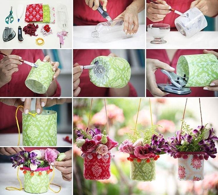 contenitori per decorare con i fiori