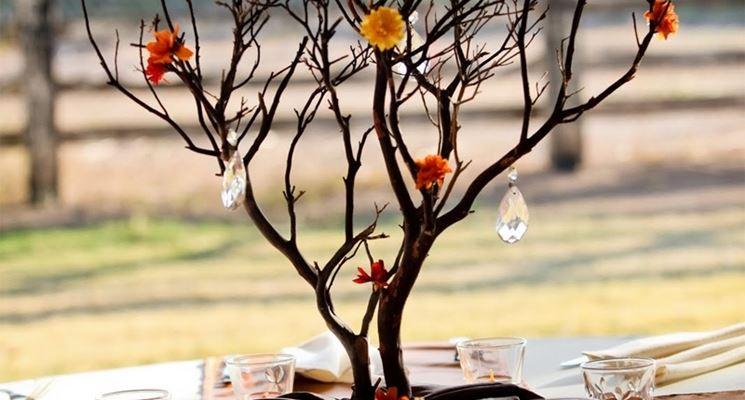 Albero di natale fai da te bricolage albero fai da te - Rami decorativi legno ...