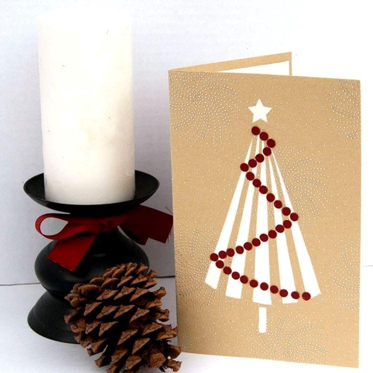 biglietto di Natale fai da te