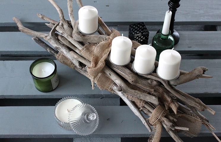 candele bianche fai da te