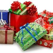 coccarde per pacchi regalo