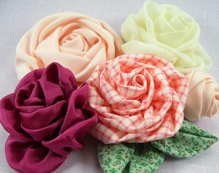 Come fare fiori di stoffa bricolage fiori di stoffa - Portaombrelli fai da te ...
