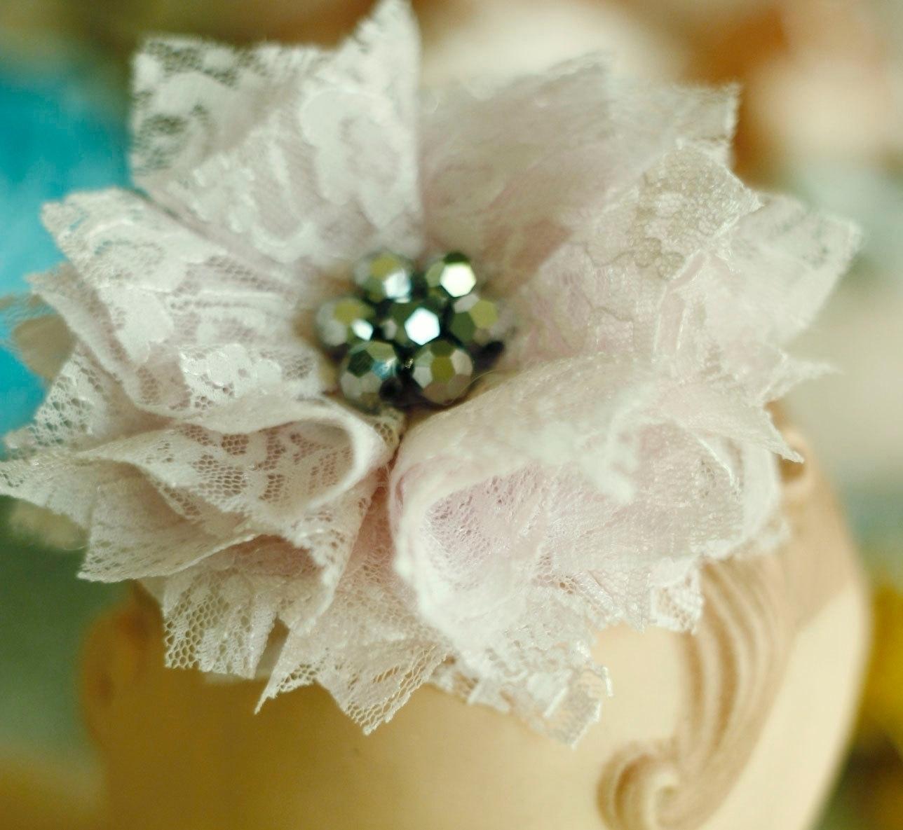 Come fare fiori di stoffa Bricolage Fiori di stoffa fai